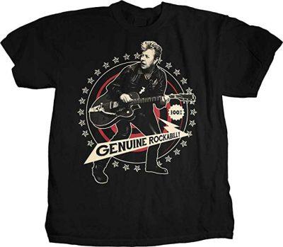 Brian Setzer - Geniune Rockabilly camiseta del líder de Stray Cats