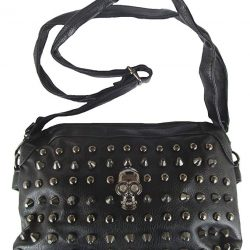 Rockabilly Punk Rock Baby Negro Black Calavera bolso bag