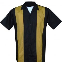 Rockabilly Fashions - Camisa Casual - Liso - para Hombre