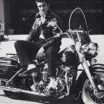 Elvis Presley - Chaqueta de cuero