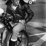 James Dean - Chaqueta de cuero