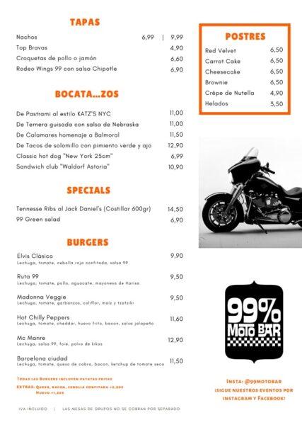 rockabilly carta motor 99